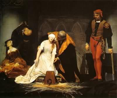 Lady Jane Grey Execution
