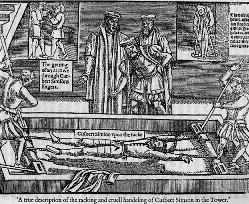 Elizabethan Era Torture,