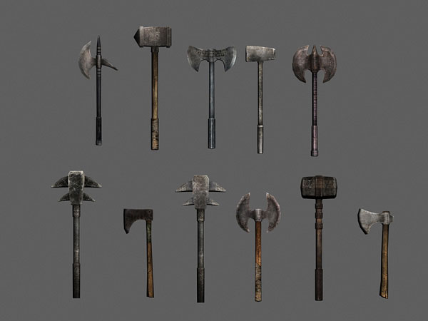 different-kinds-of-elizabethan-era-weapons